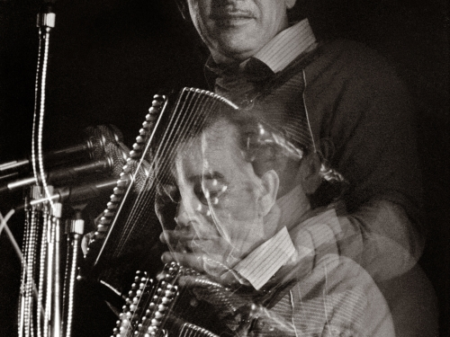 Portrait of Flaco Jimenez