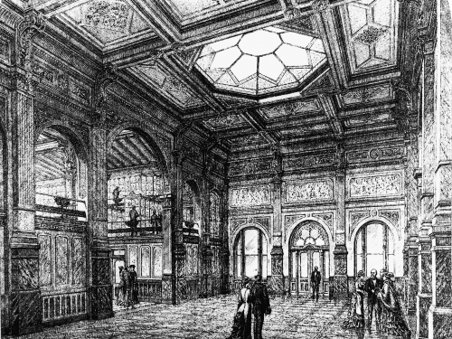 Patent Office Building - South Hall Foyer