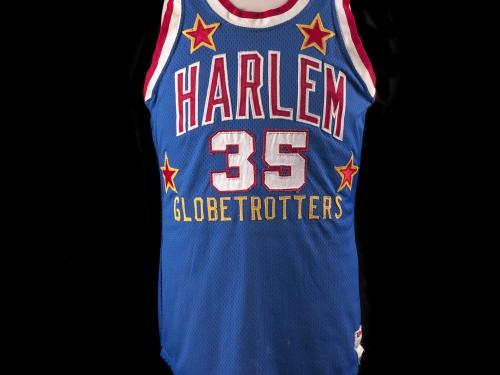 Harlem Globetrotter's jersey