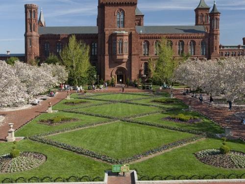 Smithsonian Castle and Enid A. Haupt Garden