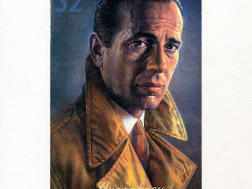 Humphrey Bogart Commemorative Stamp