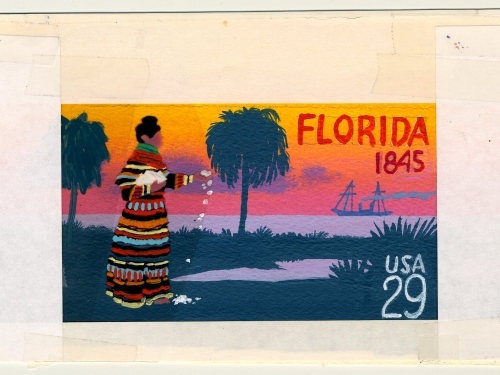 Florida Statehood Commemorative Stamp