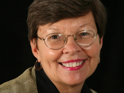 Formal portrait of Janet Klug