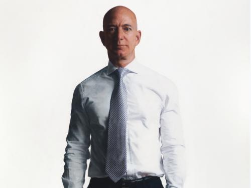 Jeffrey P. Bezos by Robert McCurdy