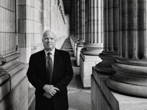 Late Senator John S. McCain III