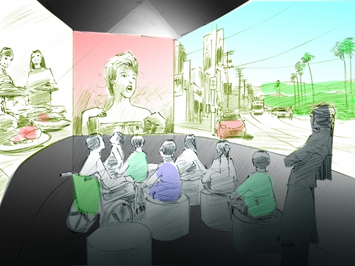 Latino gallery rendering
