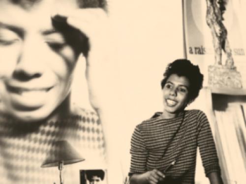 Portrait of Lorraine Hansbury