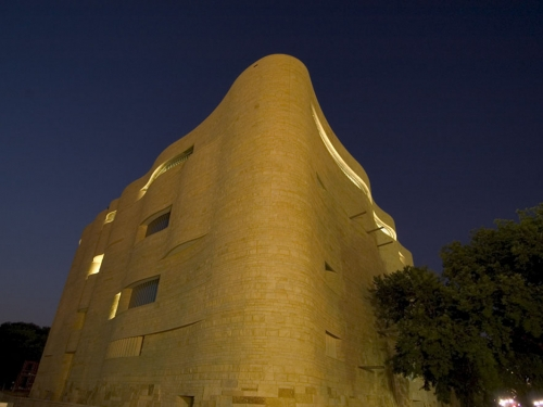 National Museum of the American Indian at Night