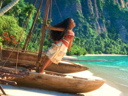 Still from film Moana