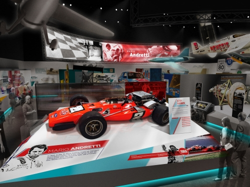 Artist's rendering of Nation of Speed Gallery