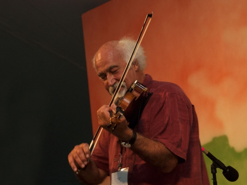 Musician in performance