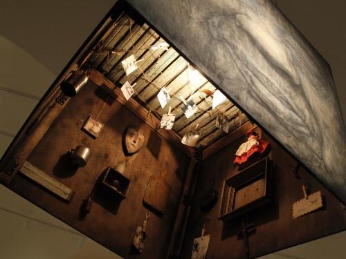 Interior of art installation