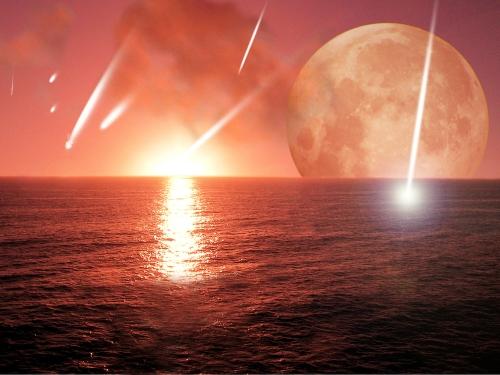 Artist's rendering alien planet