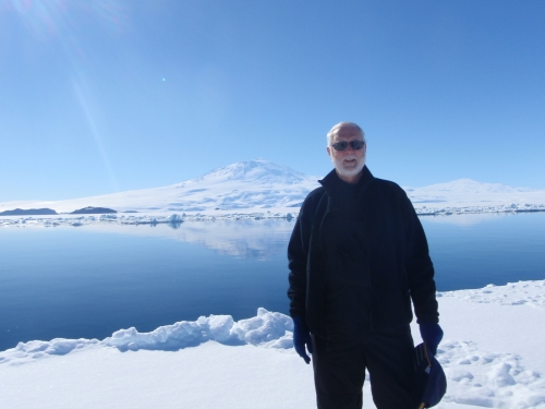 Secretary Clough in Antarctica