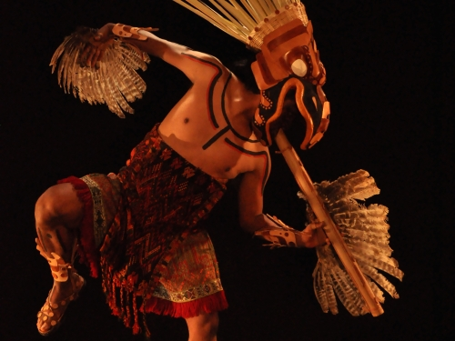 Mayan dancer