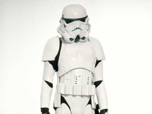 white stormtrooper armour