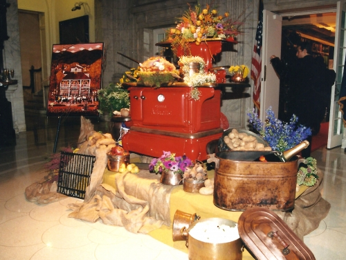 Cookstove on exhibition