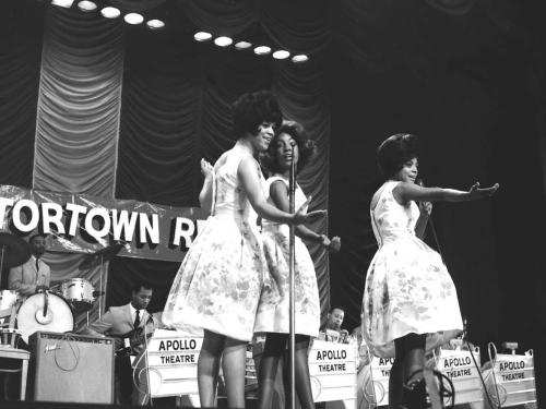 The Supremes in performance at the Apollo Theater