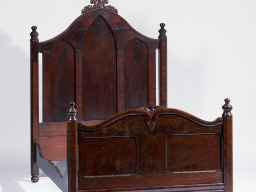 Bedstead designed by Thomas Day