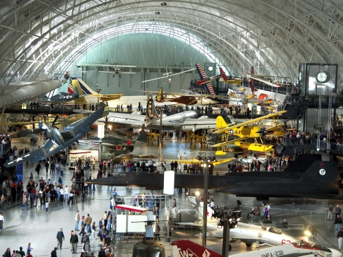 Udvar-Hazy Center Boeing Aviation Hangar, Looking South