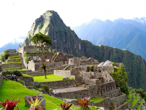 View of Macchu Pichu