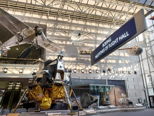 Boeing Milestones of Flight Hall