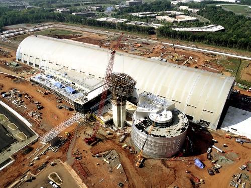 Udvar-Hazy Center Aerial View