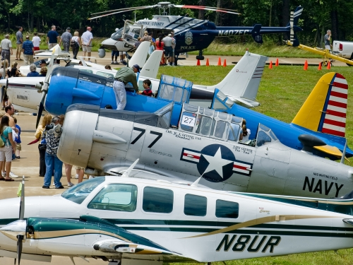 Become a Pilot Family Day and Aviation Display at the Steven F. Udvar-Hazy Cente