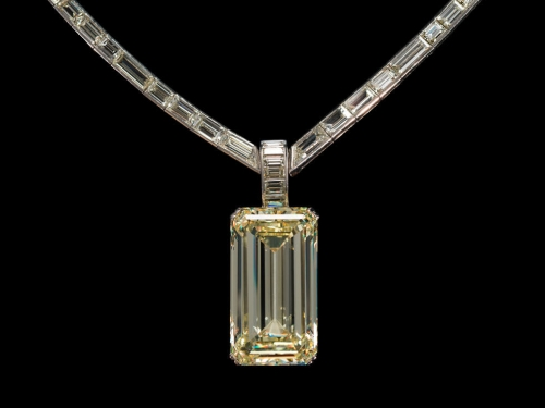 Kimberly Diamond set in a necklace