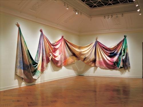 """Sam Gilliam, """"Light Depth,"""" 1969"""