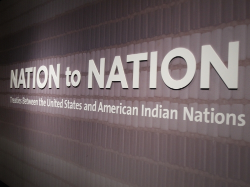 Nation to Nation Exhibition Photo
