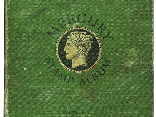 Green stamp album