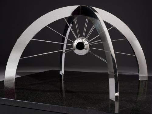 Web Space sculpture