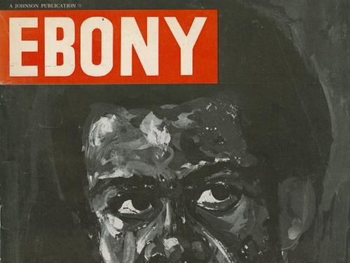 Ebony Magazine Cover