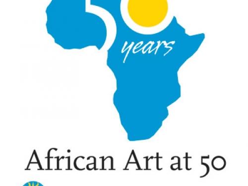 African Art Museum 50th Anniversary logo