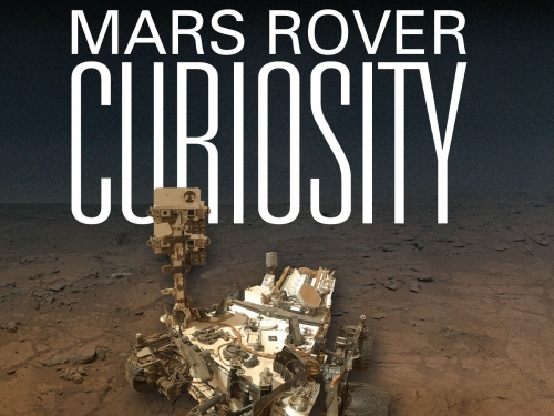 book cover with image of the rover.