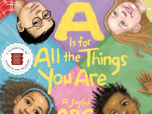 """""""A Is for All the Things You Are: A Joyful ABC Book"""" cover"""
