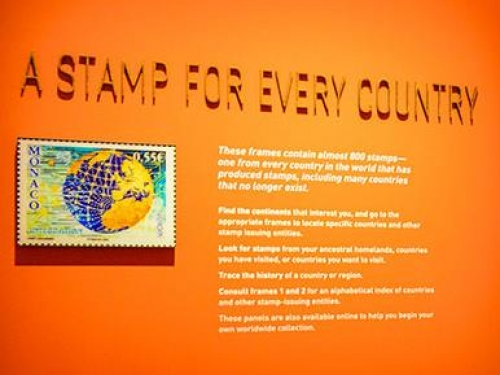 A Stamp for Every Country