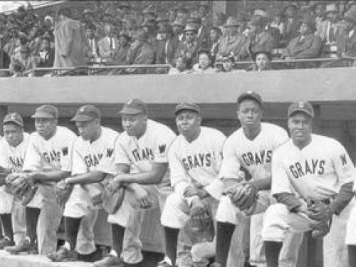 Black baseball team