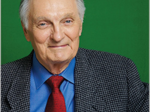 Portrait of actor Alan Alda