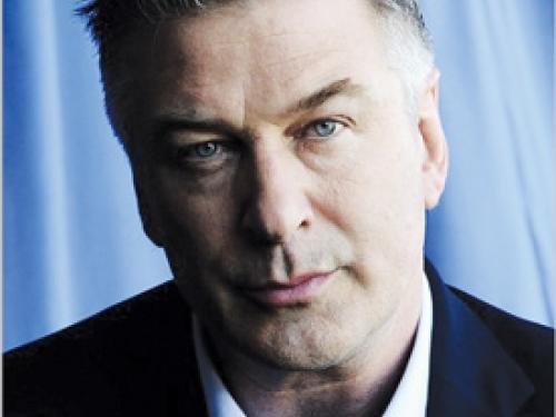 Head shot of actor Alex Baldwin