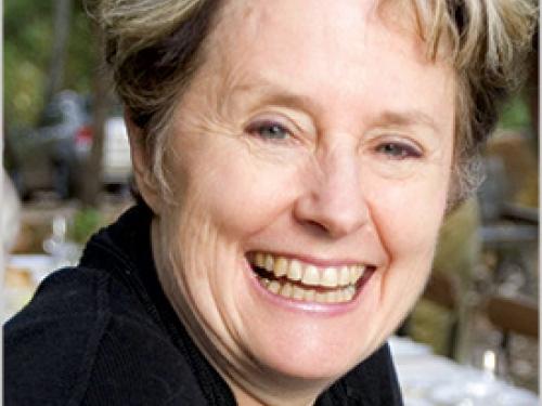 head shot of chef Alice Waters