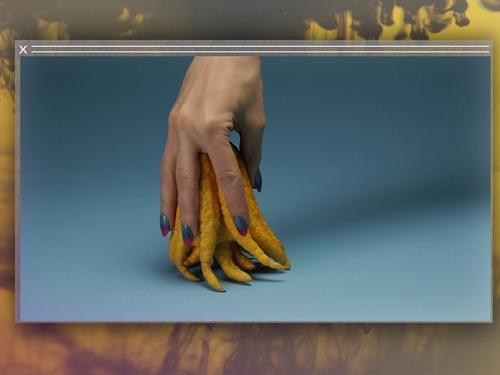 Composite photo of three video stills