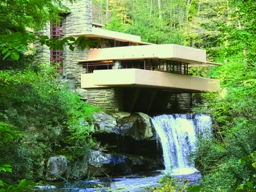 Falling Water by Frank Lloyd Wright_Risa Ryan