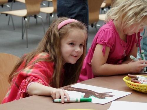 children at American Art