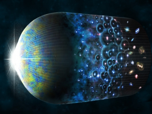 artists rendering of Big Bang
