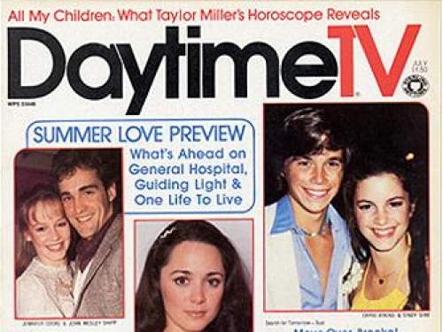 Cover from the Archives Center Daytime TV magazine collection