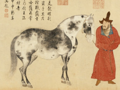 Detail from Song Dynasty painting