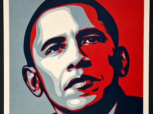 Obama portrait.
