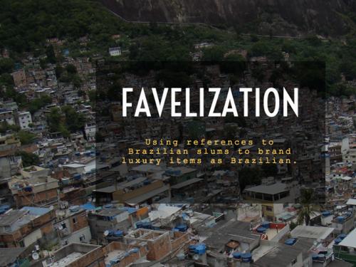 """Cover of e-book """"Favelization: The Imaginary Brazil in COntemporary Film, Design"""